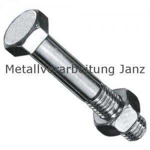 DIN 601/555 Bauschrauben 4.8 M12x160 verz. - 25 Stück