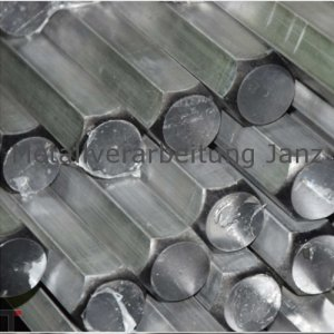 SW 10 mm  Aluminium Sechskant Alu Al Cu Mg Pb 6kant 6-kant Stab Vollstab Profil Stange