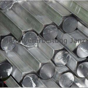 SW 24 mm Aluminium Sechskant Alu Al Cu Mg Pb 6kant 6-kant Stab Vollstab Profil Stange