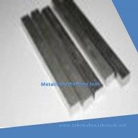 Aluminium Vierkant  6x6 mm Alu Block AlCuMgPb 2007 Block 4kant 4-kant