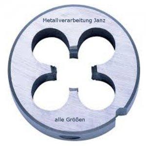 Schneideisen DIN 223 B HSS-G, Gewinde M3, Steigung 0,50 mm, für Aufnahme 20x5 mm in Unibox - 1 Stück