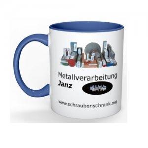 Tasse Metallverarbeitung Janz