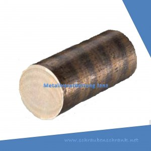 Durchmesser 20 mm Rotguss RG7 Rundmaterial Rundstange Ronde CuSn7 ZnPb Buchse rund Bronze