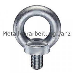 Ringschraube  M22 galvanisch verzinkt DIN 580 - 10 Stück