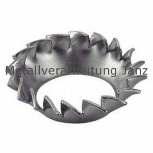Fächerscheiben Form V DIN 6798 verzinkt 13,0 mm für M12 1.000 Stück