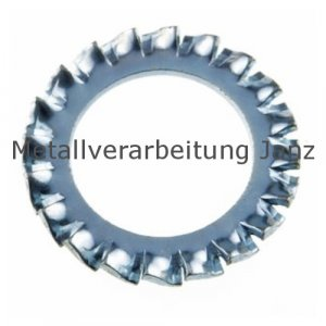 Fächerscheiben Form A DIN 6798 A2 Edelstahl 10,5mm 1.000 Stück
