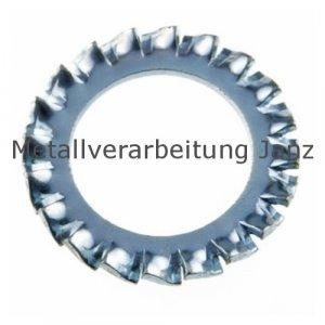 Fächerscheiben Form A DIN 6798 verzinkt 19,0mm 250 Stück