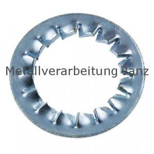 Fächerscheiben Form I DIN 6798 verzinkt 4,3mm 2.000 Stück