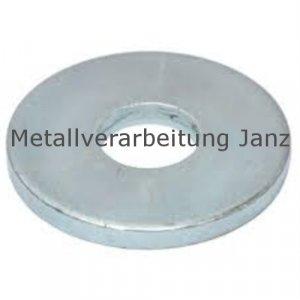 Holzbauscheiben A2 Edelstahl DIN 440/ISO 7094 für M14 (15,5x50,0x4,0mm) - 10 Stück