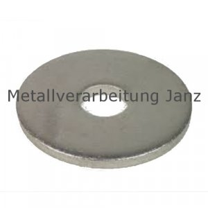 Scheiben DIN 1052 A4 Edelstahl 23,0x80,0x8,0mm 25 Stück