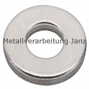 Unterlegscheiben DIN 125 Verzinkt für M2,5 (2,7x6,0x0,5mm) - 1.000 Stück
