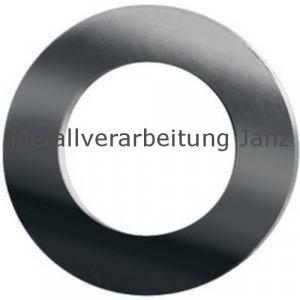 Paßscheiben DIN 988  4,0x8,0x0,3mm blank 100 Stück