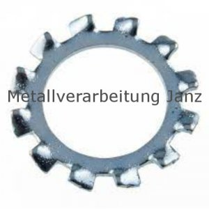 Zahnscheiben Form A DIN 6797 A2 Edelstahl, 15,0mm 500 Stück