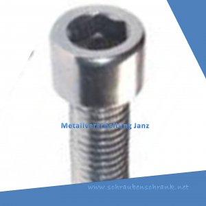 M 2.5 x 3 mm Zylinderschrauben A2 Edelstahl nach DIN 912 10 Stück