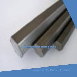 SW 10 mm St37 S235 Sechskant Stange 1.0037 h11 6-kant St Stahl blank