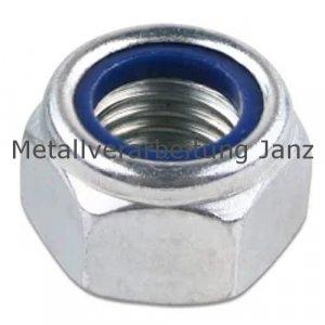 Stopmutter A4 Edelstahl DIN 985 M27 - 25 Stück