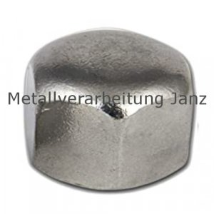 M10 Sechskant-Hutmuttern DIN 917 A2 Edelstahl 100 Stück