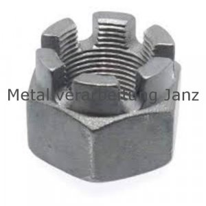 DIN 935 Kronenmuttern Verzinkt  M18- 100 Stück