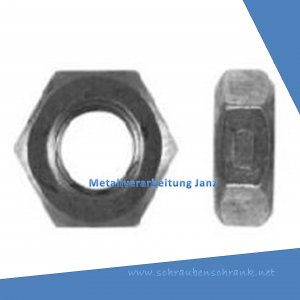 M18 Sechskantmutter ähnlich DIN 980 selbstsichernd Ausf. VM, aus A4 Edelstahl 50 Stück