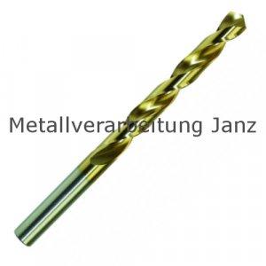 Spiralbohrer DIN 338 HSS TITAN Durchmesser 1,0 mm VPE 10 Stück