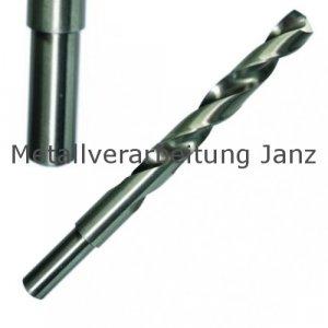 Spiralbohrer DIN 338 HSS-G mit reduzierten Schaft Ø 21,5 mm