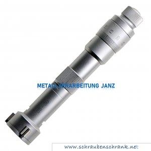 3 Punkt Innenmessschraube Typ 668, DIN 863, mit Einstellring, 10 - 12 mm