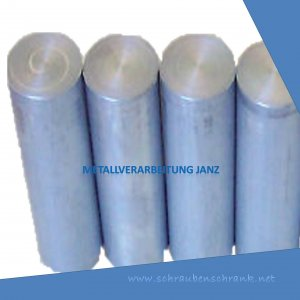 Durchmesser 260 mm Länge 31 mm Aluminium Rundmaterial 3.1645