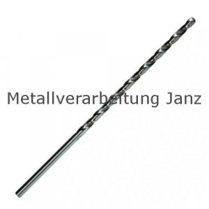 Bohrer Extra Lang DIN 1869 HSS-G Durchmesser 2,0mm - 200mm - 1 Stück