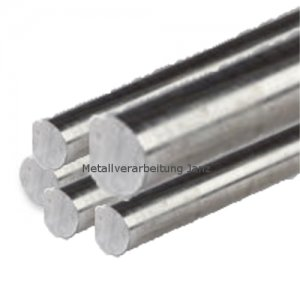 Silberstahlwelle Durchmesser 8,0mm x 500mm - 1 Stück