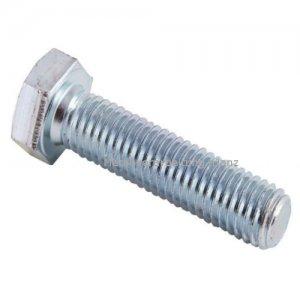 """UNF Sechskantschrauben mit durchgehenden Gewinde (ä. DIN 933), Grade 5 (8.8), verzinkt, 1/4""""x1/2"""" (6,35x12,70mm) - 500 Stück"""