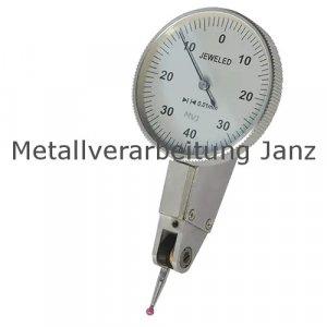 Messuhr Taster Feintaster 0,01 mm Fühlhebelmessgerät
