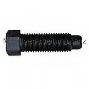 DIN 561 B 8.8 blank Sechkantschrauben mit Auslauf, Zapfen, kleinem 6-kant, Gewinde bis Kopf M8x16 1 Stück