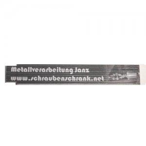 Zollstock / Gliedermaßstab aus Holz 2m - MVJ