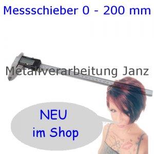 Digitaler Messschieber 0 - 200 mm Schieblehre Messlehre Messwerkzeug Digital Caliper
