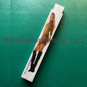 Zollstock / Gliedermaßstab aus Holz 2m - Kimmi