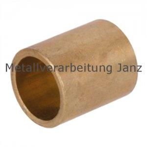 Sinterbronze Buchse Durchmesser 25 x 30 x 20mm Gleitlager für 25mm Welle 25/30x20mm Lager