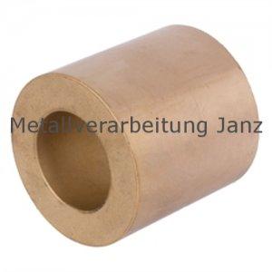 Rohmaterial aus Sinterbronze mit Bohrung Durchmesser 38/66 x 120 mm Gleitlager Zylinderlager