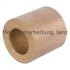 Rohmaterial aus Sinterbronze mit Bohrung Durchmesser 98/142 x 120 mm Gleitlager Zylinderlager