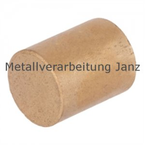 Rohmaterial aus Sinterbronze Durchmesser 20 x 25 mm Gleitlager Zylinderlager