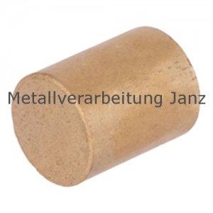 Rohmaterial aus Sinterbronze Durchmesser 42 x 100 mm Gleitlager Zylinderlager