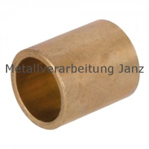 Sinterbronze Buchse Durchmesser 16 x 22 x 16 mm Gleitlager für 16mm Welle 16/22x16mm Lager
