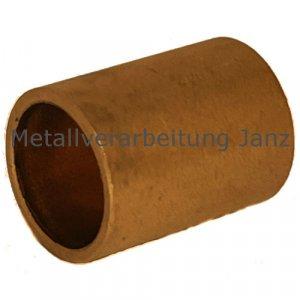 Sinterbronze Buchse Durchmesser 18 x 22 x 18 mm Gleitlager für 18mm Welle 18/22x18mm Lager