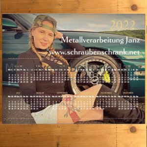 Magnetkalender 2021 Kim