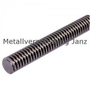 Trapezgewindespindel DIN 103 Tr.20 x 4 x1500 mm lang eingängig links Material C15 gerollt