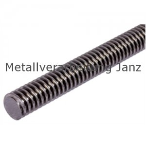 Trapezgewindespindel DIN 103 Tr.60 x 9 x1500 mm lang eingängig links Material C15 gerollt