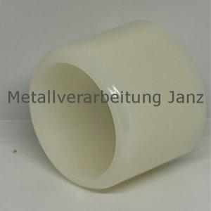 Buchse aus Polyamid Durchmesser 40/48 x 40 mm Lager für 40 mm Welle - 1 Stück