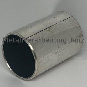 Buchsen, geschlitzt (völlig ungeschmiert) Durchmesser 20/23 x 20 mm Lager für 20 mm Welle - 1 Stück