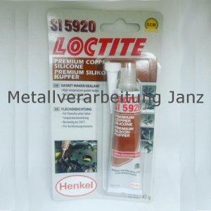 Loctite® 5920 - Dauerelastische Flächendichtung Ultra Copper