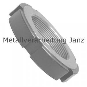 Nutmutter DIN 1804 Form RF M12 x 1,5 mm Edelstahl 1.4301 ungehärtet - 1 Stück