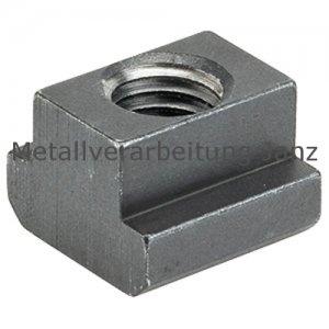 T-Nutenstein DIN 508 M 6 Nutbreite 8 mm brüniert - 1 Stück